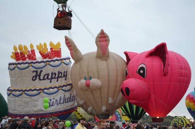 Birthday Cake Balloons Images ~ Elephant with balloons sheet cake u trefzger s bakery