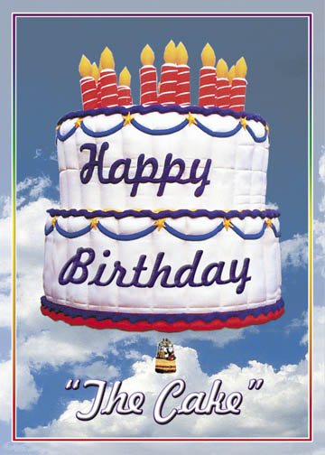 The Birthday Cake Hot Air Balloon